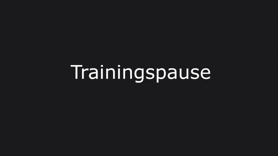 trainingspause